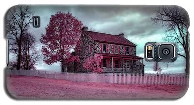 Rose Farm In Infrared Galaxy S5 Case