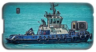 Salvage Tug Boat Galaxy S5 Case