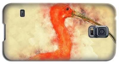 Scarlet Ibis Galaxy S5 Case