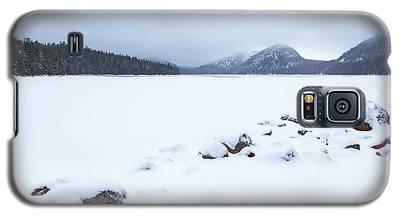 Snow Cover Jordan Pond Galaxy S5 Case