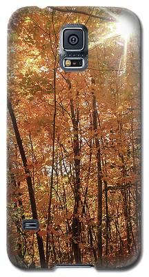 Sunburst Of Fall Galaxy S5 Case
