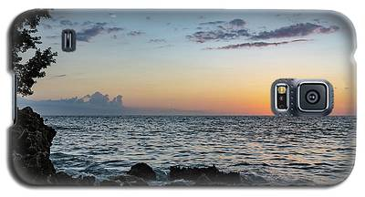 Sunset Afterglow In Negril Jamaica Galaxy S5 Case