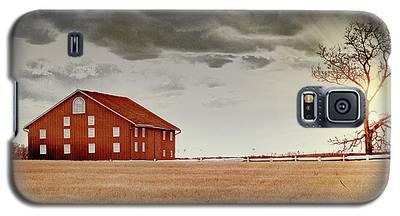 Sunset Barn Galaxy S5 Case