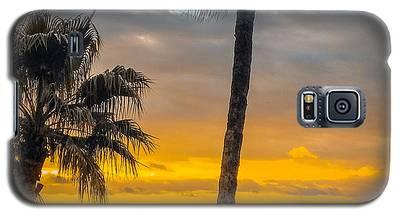 Sunset On The Island Galaxy S5 Case
