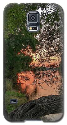 Sunset On The Mississippi Galaxy S5 Case
