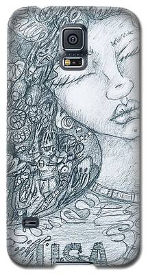The Immigrant Heart Galaxy S5 Case