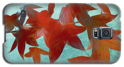 The Red Leaves Galaxy S5 Case