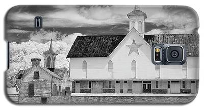 The Star Barn In Infrared Galaxy S5 Case