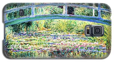 The Water Lily Pond By Monet Galaxy S5 Case