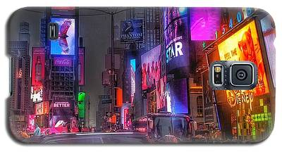 Times Square - The Light Fantastic 2016 Galaxy S5 Case