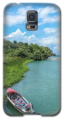 Tour Boat In Jamaica Galaxy S5 Case
