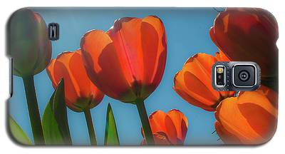 Towering Tulips Galaxy S5 Case