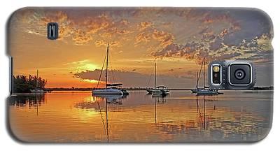 Tranquility Bay - Florida Sunrise Galaxy S5 Case