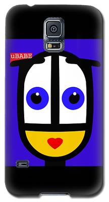 Ubabe Blue Galaxy S5 Case