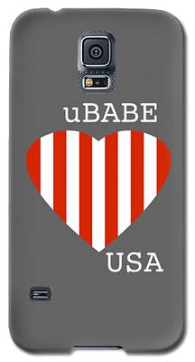 uBABE USA Galaxy S5 Case