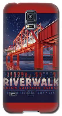 Union Railroad Bridge - Riverwalk Galaxy S5 Case