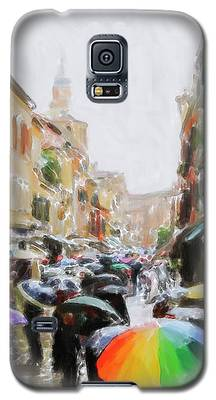 Venice In The Rain Galaxy S5 Case