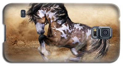 Wild And Free Horse Art Galaxy S5 Case