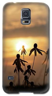Wildflower Sunset Galaxy S5 Case
