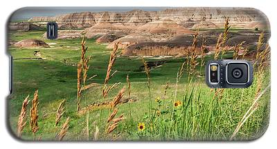 Wildflowers In The Badlands Galaxy S5 Case