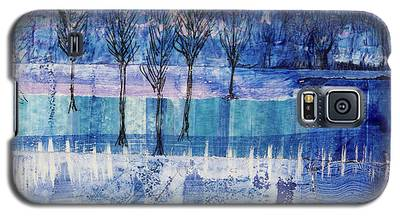 Winter Blues 1 Galaxy S5 Case