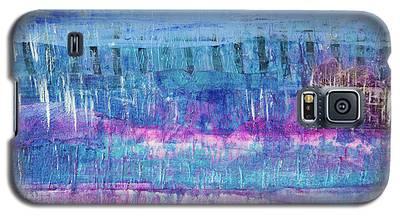 Winter Blues 3 Galaxy S5 Case