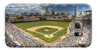 Wrigley Field Galaxy S6 Cases