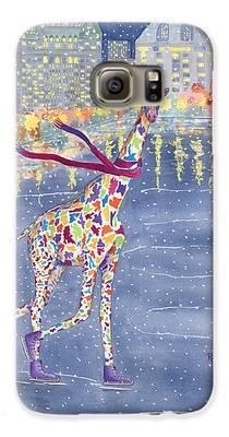 Giraffe Galaxy S6 Cases
