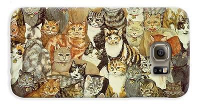 Cat Galaxy S6 Cases
