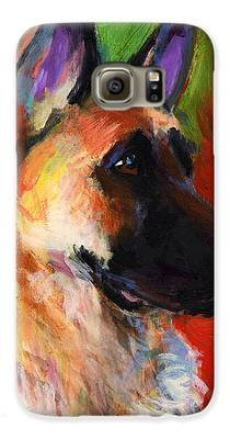 German Shepherd Galaxy S6 Cases