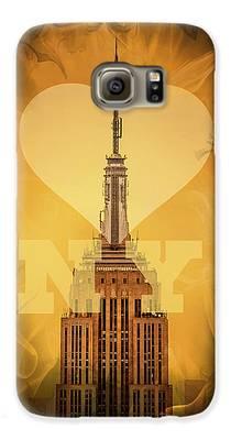 New York City Skyline Galaxy S6 Cases