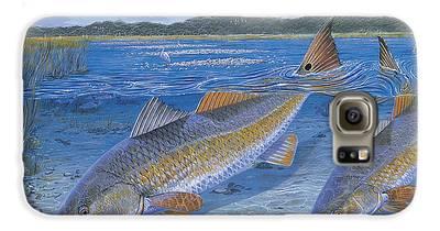 Largemouth Bass Galaxy S6 Cases