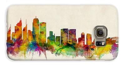 Sydney Skyline Galaxy S6 Cases