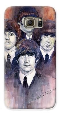 Beatles Galaxy S6 Cases