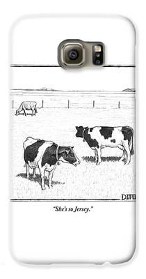 Rural Scenes Galaxy S6 Cases