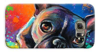 French Bulldog Galaxy S6 Cases