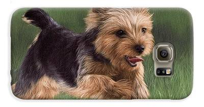 Yorkshire Terrier Galaxy S6 Cases