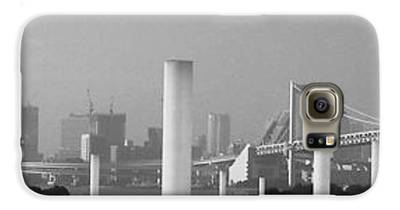 Tokyo Skyline Galaxy S6 Cases