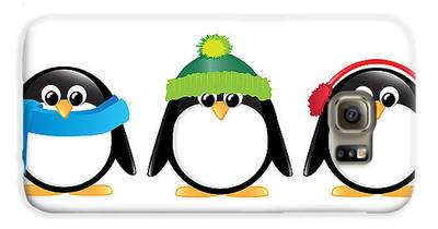 Penguin Galaxy S6 Cases
