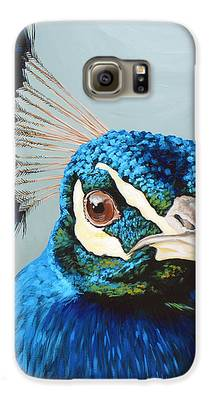 Peacock Galaxy S6 Cases