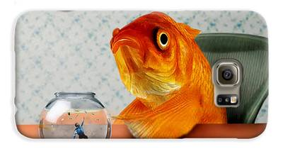 Goldfish Galaxy S6 Cases