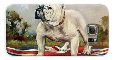 English Bulldog Galaxy S6 Cases