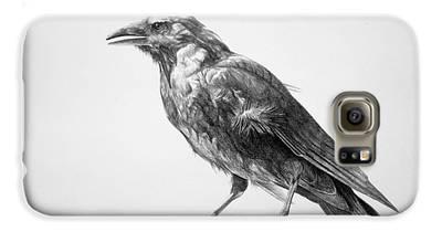 Crow Galaxy S6 Cases