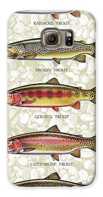 Trout Galaxy S6 Cases
