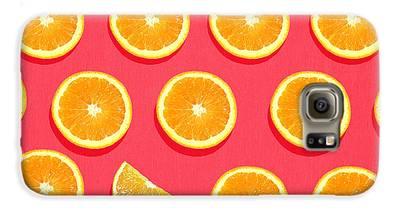 Orange Galaxy S6 Cases