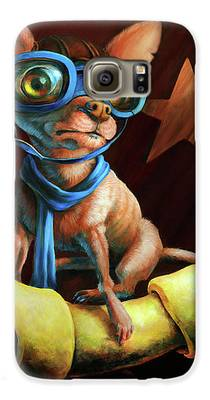 Chihuahua Galaxy S6 Cases