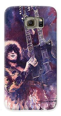 Jimmy Page Galaxy S6 Cases