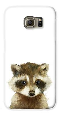 Raccoon Galaxy S6 Cases