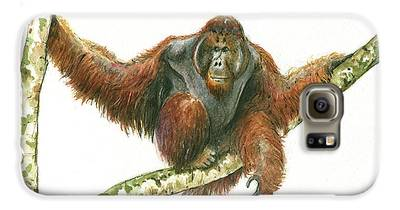 Orangutan Galaxy S6 Cases