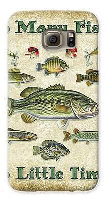 Smallmouth Bass Galaxy S6 Cases